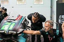Lewis Hamiltons MotoGP-Visite: Möchte unbedingt fahren