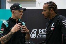 MotoGP Katar 2019: Lewis Hamilton zu Gast bei Petronas-Yamaha