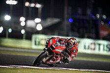 MotoGP Katar 2019: Danilo Petrucci im Warm Up vorn