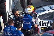 NASCAR - Video: NASCAR Phoenix 2019: Schlägerei zwischen Suarez und McDowell