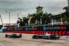 Formel E 2019: Bird verliert Hongkong-Sieg an Mortara