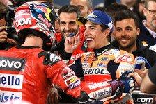MotoGP Katar: So bewerten Dovizioso und Marquez ihr Duell