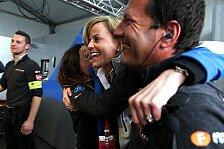 Susie Wolff bejubelt ersten Venturi-Sieg im 50. Formel-E-Rennen