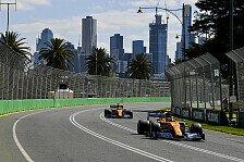 Formel 1, Australien: McLaren-Rookie Norris sticht Sainz aus