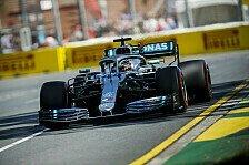 Formel 1 Live-Ticker Australien: Mercedes im Training vorn