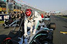 Formel 1, Hamilton unbesiegbar: Melbourne-Pole rekordverdächtig