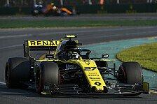 Formel 1: Hülkenberg nach hartem Fight auf P7, Ricciardo raus