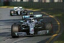 Formel 1 Australien: Darum drückte Bottas Hamilton 20 Sekunden