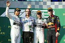 Formel 1 2019: Australien GP - Podium