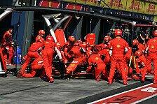 Angst vor Boxenfehler: Ferrari verzichtet auf Schnellste Runde