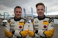 Podestplatz für das ADAC Opel Rallye Junior Team auf den Azoren