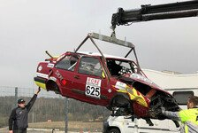 Nürburgring-Unfall: Spenden-Aktion für Überschlag-Jetta