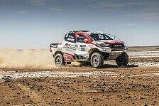 Fernando Alonso testet Dakar-Toyota: Alle Bilder