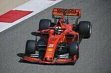 Formel 1 Bahrain, Leclerc im 1. Training vor Vettel und Bottas