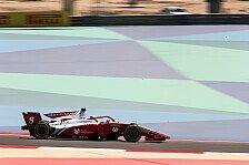 Formel 2 Bahrain: News-Ticker zum Wochenende in Sakhir