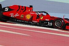 Formel 1 Reifen China 2019: Ferrari vorsichtiger als Mercedes