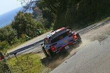WRC Rallye Korsika 2019: News und Ergebnisse im Splitter
