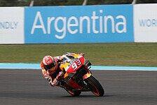 MotoGP Argentinien 2019: Marc Marquez trotz Defekt in FP4 voran