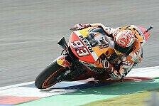 MotoGP Argentinien 2019: Marquez im FP3 vorn, Dovizioso stürzt