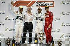 Formel 1 2019: Bahrain GP - Podium