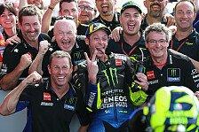 MotoGP - Valentino Rossi glücklich: Ein großartiger Kampf