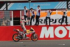 MotoGP - Marc Marquez: Nicht einmal ein Viertel des GPs gepusht