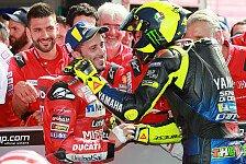 Dovizioso nach Duell mit Rossi: Ich wollte nicht wegschmeißen