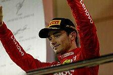 Formel 1 Bahrain-Statistik: Leclerc jagt, Ferrari holt Rekord