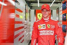 Formel 1 und Ferrari-Debüt: Jetzt spricht Mick Schumacher