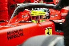 Mick Schumacher: Seine ersten Runden im Formel-1-Ferrari