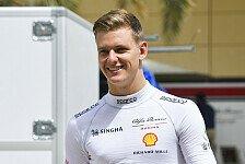 Mick Schumacher nach Formel-1-Test: F1 macht einfach Bock!