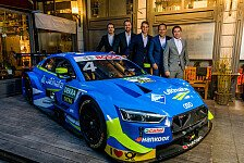 Audi-Abt präsentiert DTM- und Formel-E-Programm 2019 in München