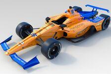 McLaren enthüllt Design für Fernando Alonsos Indy500-Geschoss