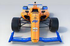 Alle Bilder: Fernando Alonsos Indy500-McLaren