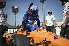 Fernando Alonso: Erster Test für Indy500 2019 in Bildern