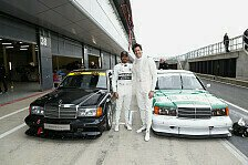 Formel 1 - Video: Formel 1, Hamilton vs. Wolff: Duell in altem DTM-Mercedes