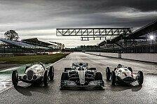 Mercedes feiert 125 Jahre Motorsport: Die schönsten Bilder