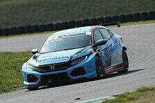 Honda-Pilot Mike Halder macht das Tempo beim Vorsaisontest