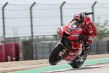 MotoGP Jerez 2019: Bestzeit für Petrucci, dann Rote Flagge