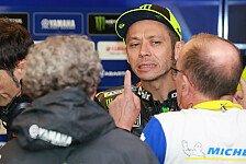 MotoGP - Rossi: Im Regen? Stark. Im Trockenen? Mal sehen...