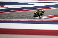 MotoGP - Valentino Rossi: Verpasster Sieg in Austin schmerzt
