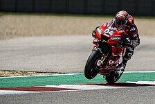 MotoGP - Nur P13: Dovizioso befürchtet schwierigen Austin-GP