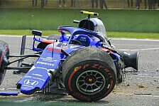 Formel 1 2019: China GP - Albon Crash im 3. Training