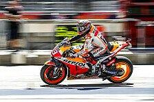 MotoGP Austin 2019: Marc Marquez schnappt sich Warm-Up-Bestzeit