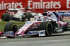 Formel 1, China: Perez wehrt Kimi ab, Stroll kritisiert Team