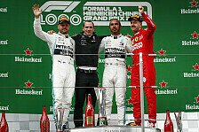 Formel 1 2019: China GP - Podium