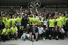 Formel 1 China 2019 - Statistik: Doppelsieg-Rekord für Mercedes