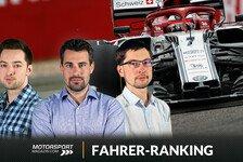 Formel 1 China: Räikkönen siegt auch mit Alfa - bei Fahrernoten
