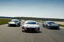 DTM-Testfahrten Lausitz: Audi, BMW und Aston Martin in Action