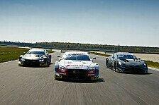 DTM-Tests Lausitzring: Audi-Sextett führt Zeitenliste an